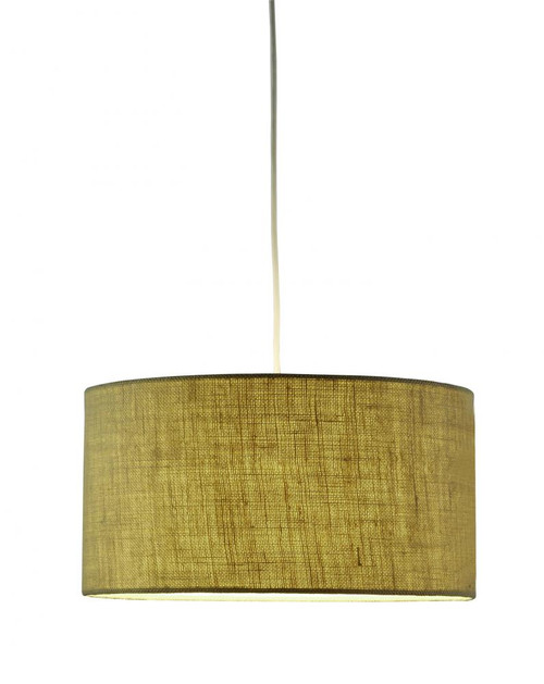 Chandeliers/Pendant Lights By Adesso Harvest Drum Pendant in Brown 4001-18
