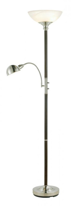 Lamps By Adesso Lexington Combo Floor Lamp 4052-15