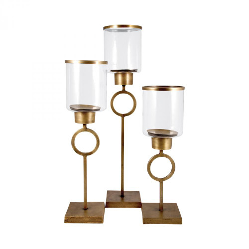 Brands/Pomeroy By Pomeroy Bangle Set of 3 Pillar Holders 562594
