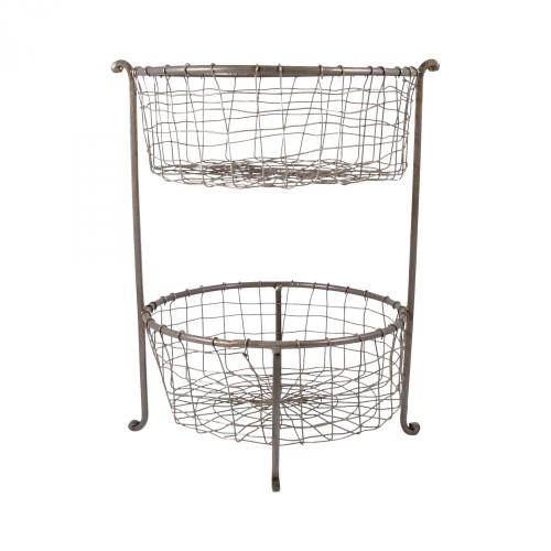 Brands/Pomeroy By Pomeroy Rockwell Double Utility Basket 619304