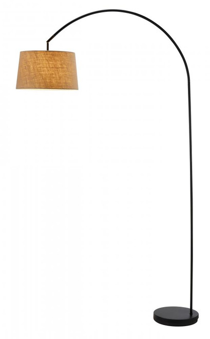 Lamps By Adesso Goliath Arc Lamp in Black 5098-01