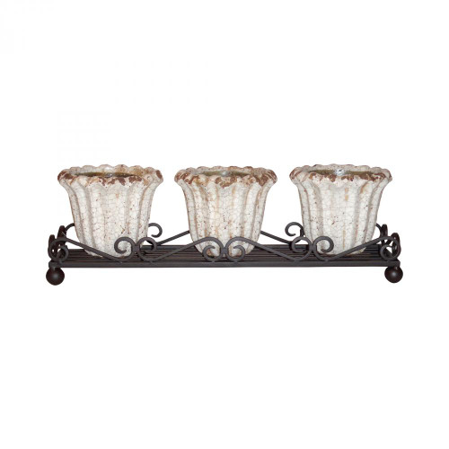 Brands/Pomeroy By Pomeroy Jardin Wavy Triple Planter 772498