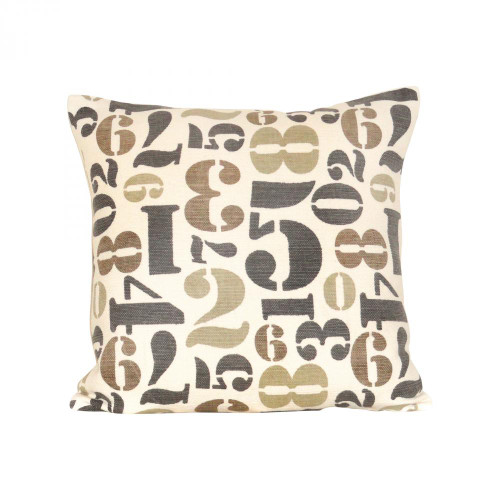 Brands/Pomeroy By Pomeroy Numbers 20x20 Pillow 900129