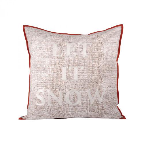 Brands/Pomeroy By Pomeroy Let It Snow Pillow 24X24-Inch 903229