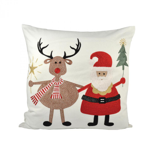 Brands/Pomeroy By Pomeroy Santa And Friends 20x20 Pillow 904417