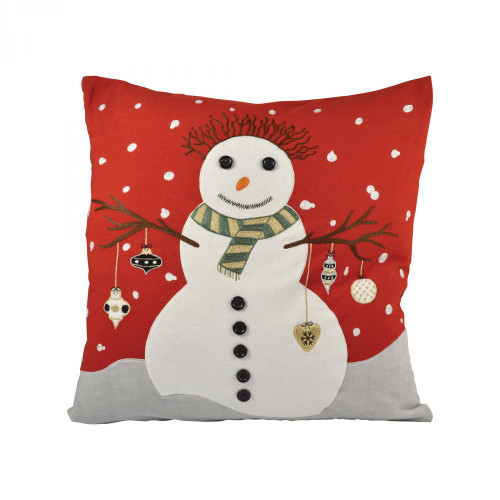 Brands/Pomeroy By Pomeroy Snowman 20x20 Pillow 904424