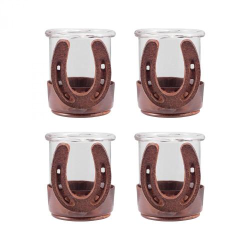 Brands/Pomeroy By Pomeroy Horse Shoe Set of 4 Votives 621222/S4
