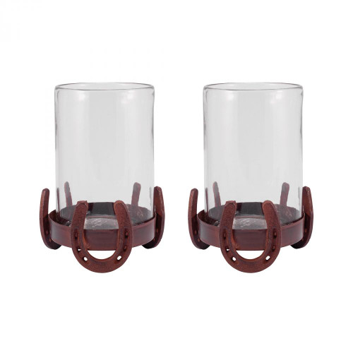 Brands/Pomeroy By Pomeroy Horse Shoe Set of 2 Hurricanes 621239/S2