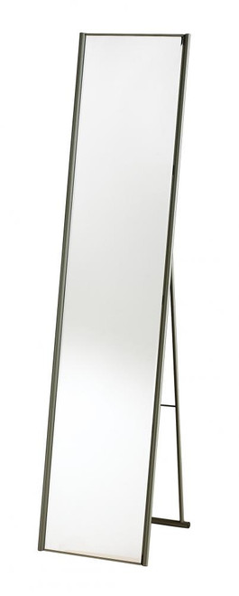Home Decor By Adesso Alice Floor Mirror in Steel WK2444-22