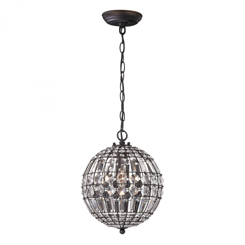 Chandeliers/Pendant Lights By Sterling Industries Round Crystal Mini Pendant 122-015