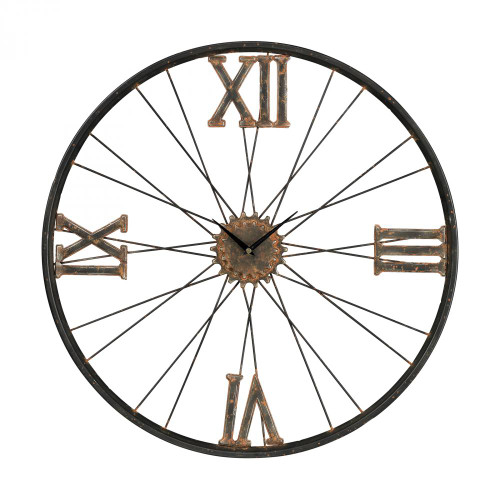 Home Decor By Sterling Industries Iron Wall Clock 129-1088