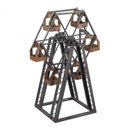 Home Decor By Sterling Industries Bradworth-Industrial Ferris Wheel Candle Holder 138-008