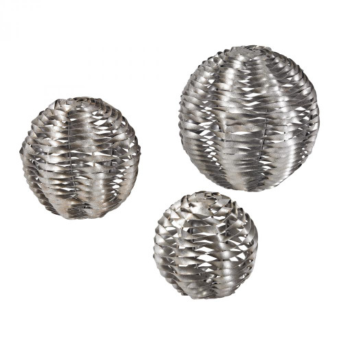 Home Decor By Sterling Industries Set Of 3 Metal Work Objects 138-103/S3