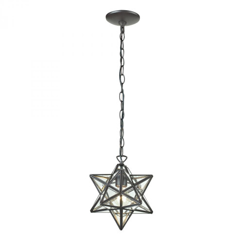 Chandeliers/Pendant Lights By Sterling Industries Star Star-1Light Glass Pendant Lamp 11x12 145-002