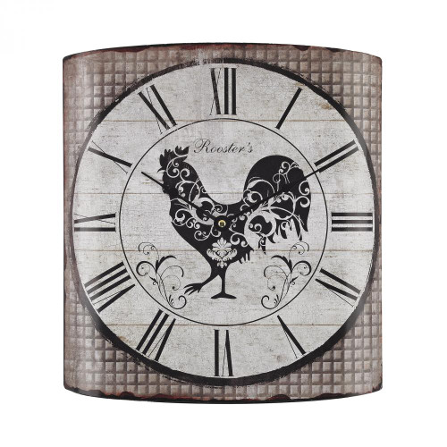 Home Decor By Sterling Industries Stylized Rooster Wall Clock 171-008