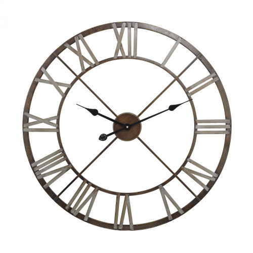 Home Decor By Sterling Industries Open Center Iron Wall Clock 171-012