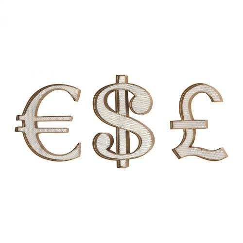 Home Decor By Sterling Industries Currency Wall Display 3138-206/S3