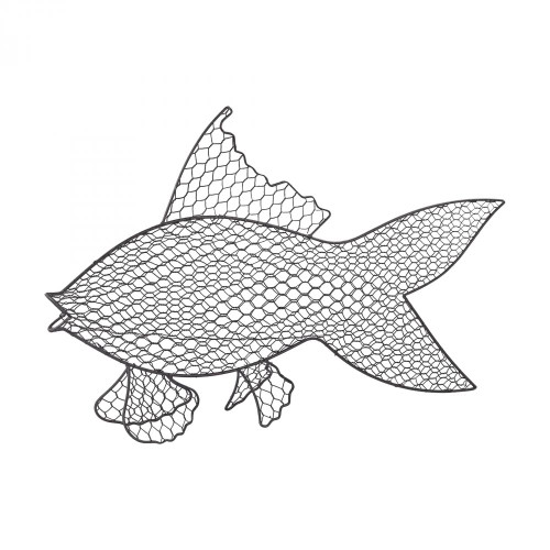 Home Decor By Sterling Industries Wire Fish Wall Dcor 3200-041
