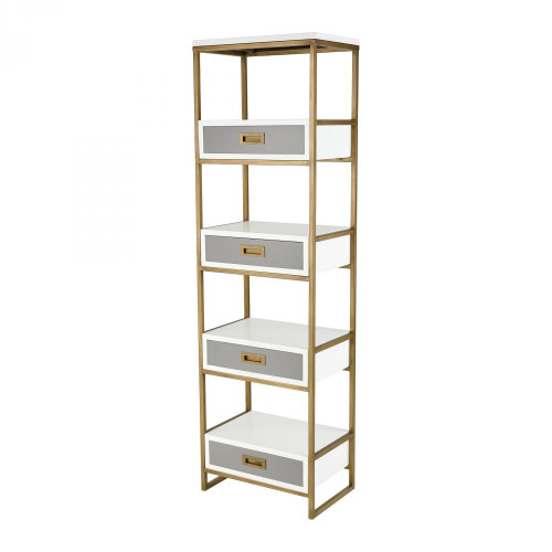 Home Decor By Sterling Industries Olympus Shelving Unit 351-10293