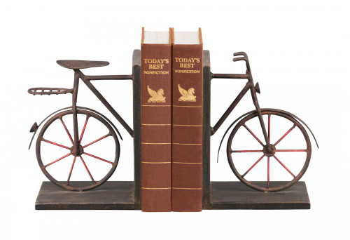 Home Decor By Sterling Industries Pair Bicycle Bookends 51-3857