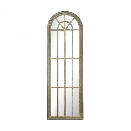 Home Decor By Sterling Industries Full Length Arched Window Pane Mirror 6100-007