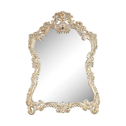 Home Decor By Sterling Industries Regence Composite Frame Wall Mirror In Belgian Cream 6100-024