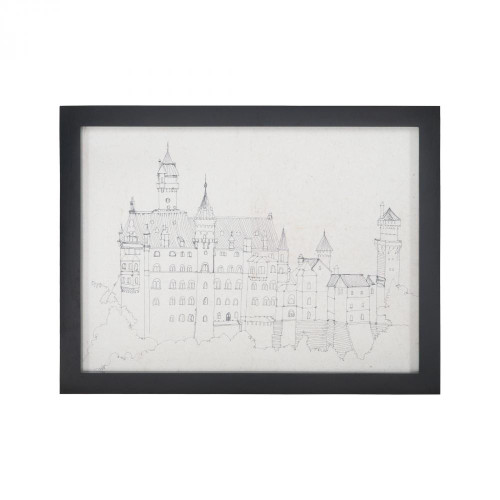 Home Decor By Sterling Industries Neuschwanstein Castle 7011-574