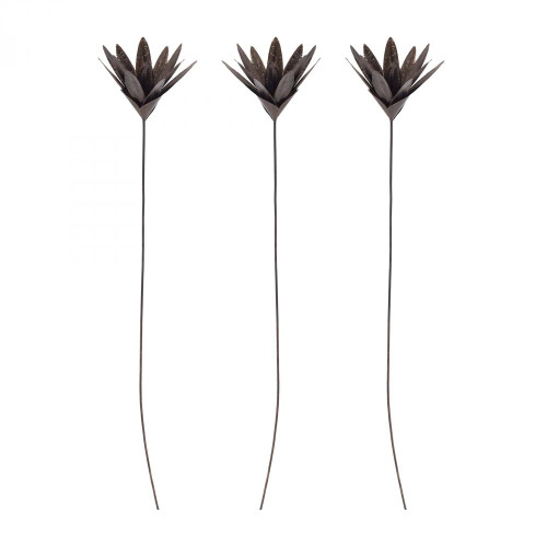 Home Decor By Sterling Industries Bronze Leaf Blossom Stem 7159-033/S3