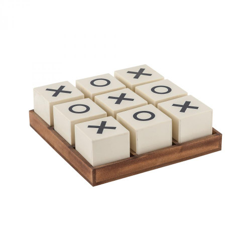 Home Decor By Sterling Industries Crossnought Tic-Tac-Toe Game 8903-048