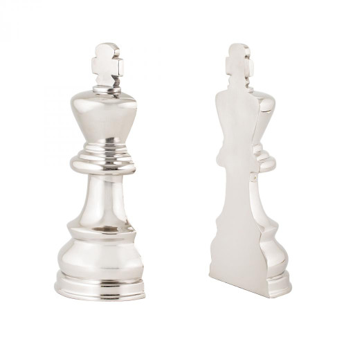 Home Decor By Sterling Industries Chess Piece Book Ends 8984-025/S2
