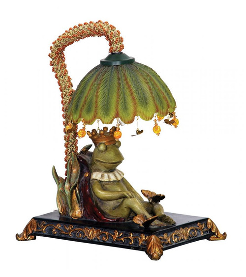 Lamps By Sterling Industries Sleeping King Frog Mini Lamp 91-740