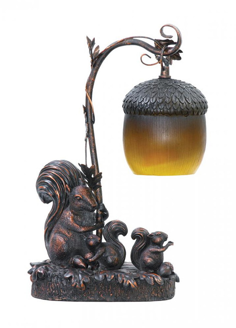 Lamps By Sterling Industries Squirrel Acorn Mini Accent Table Lamp 91-768