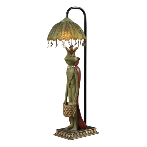 Lamps By Sterling Industries King Frog With Basket Accent Lamp 93-19334