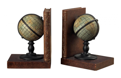 Home Decor By Sterling Industries Atlas Book Ends 93-9224