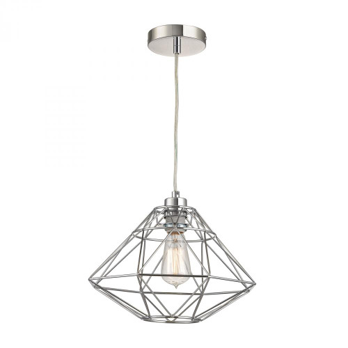 Chandeliers/Pendant Lights By Sterling Industries Paradigm 1 Light Pendant In Chrome D2962