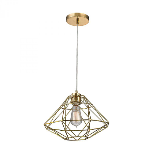 Chandeliers/Pendant Lights By Sterling Industries Paradigm 1 Light Pendant In Gold D2963