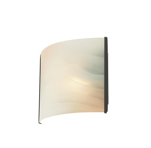 Wall Lights By Alico Pannelli 1 Light Vanity In Oil Rubbed Bronze And Hand-Molded Honey Alabaster Glass BV711-HM-45