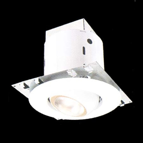 "Ceiling Lights/Recessed Lighting By Thomas Recessed kit includes 5"" non-IC housing white adjustable eyeball trim. DY6410"