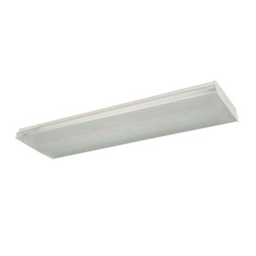 Ceiling Lights By Thomas Four-light surface mount fluorescent wrap around with clear prismatic acrylic lens. 12V electronic FWN432EB