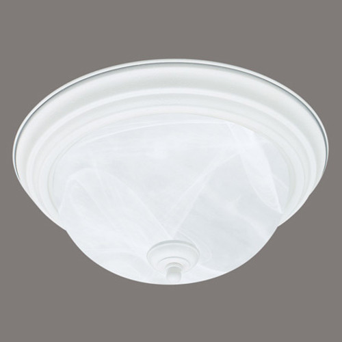 Ceiling Lights By Thomas Two-light ceiling mount fixture in Textured White finish. Etched alabaster style glass SL869218