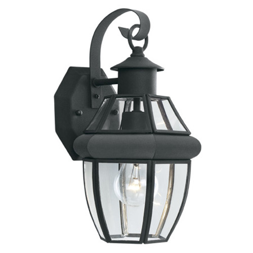 Outdoor Lights By Thomas HERITAGE 15.75in One-light traditional outdoor wall fixture with clear beveled glass SL94247