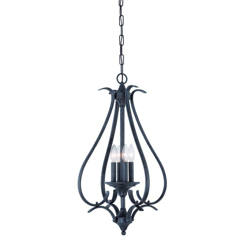 Chandeliers/Pendant Lights By Thomas Four-light pendant in Sable Bronze finish. TC0023722
