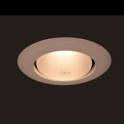 """Ceiling Lights/Recessed Lighting By Thomas 6"""" White Open Trim. Not for use with PS1-NSP. TR40W"""