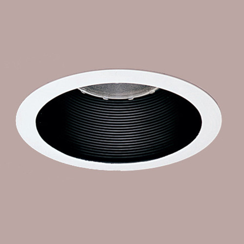 """Ceiling Lights/Recessed Lighting By Thomas 6"""" Fully Enclosed Black Baffle.The adjustable socket plate for PS1, PS7IC, and PS3 must be removed TRB30"""