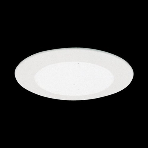 "Ceiling Lights/Recessed Lighting By Thomas 6"" Shower Trims White Albalite Shower Light Aluminum trim ring, with reflector, for IC Application TSH12IC"