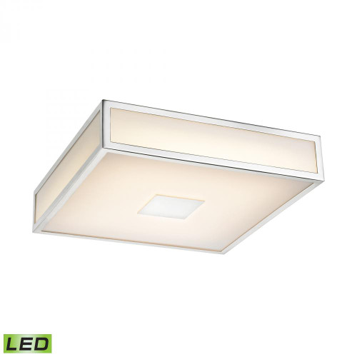 Ceiling Lights By Alico Hampstead 1 Light LED Flushmount In Chrome FML4000-10-15