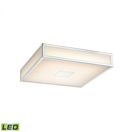 Ceiling Lights By Alico Hampstead 1 Light LED Flushmount In Chrome FML4100-10-15