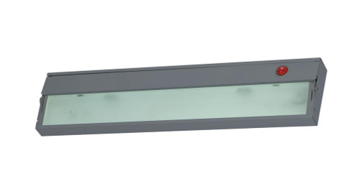 Wall Lights By Alico ZeeLite 1 Lamp Cabinet Light In Stainless Steel And Diffused Glass HZ109RSF