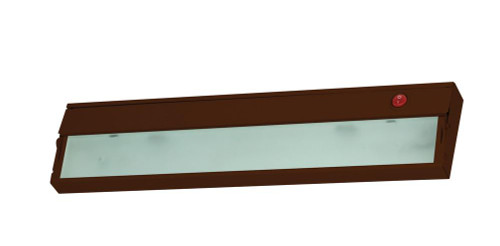 Wall Lights By Alico ZeeLite 1 Lamp Cabinet Light In Bronze And Diffused Glass HZ309RSF