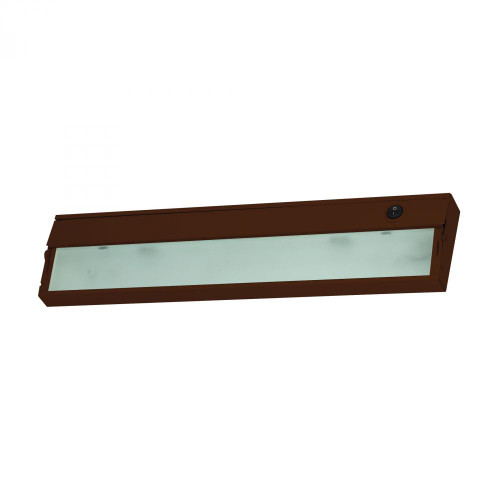 Wall Lights By Alico ZeeLite 2 Lamp Cabinet Light In Bronze And Diffused Glass HZ317RSF